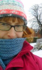SpookyMrsGreen in the Snow