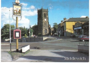 Town Centre postcard Jerry Woods 31011