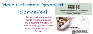 Meet Catherine Green at #ScribeFest!