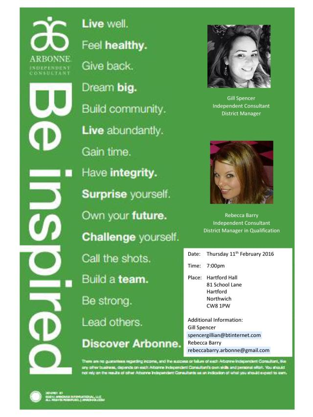Discover Arbonne Poster