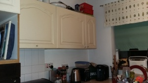 Old Kitchen Cupboards