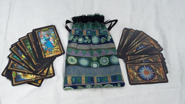 SpookyMrsGreen Gilded Tarot Cards