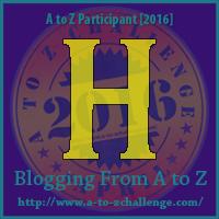 AtoZ Badge H