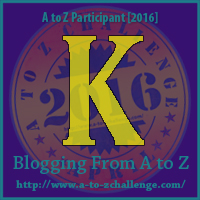 AtoZ Badge K
