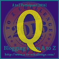 AtoZ Badge Q