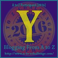 AtoZ Badge Y