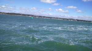 Poole Harbour Choppy Sea SpookyMrsGreen