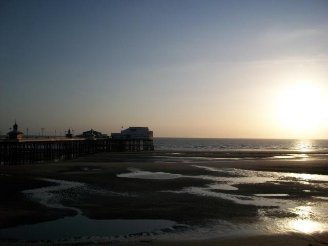 Sunset on Beach SpookyMrsGreen