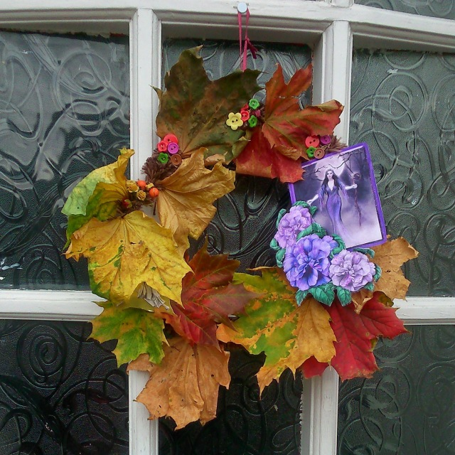 Mabon Wreath SpookyMrsGreen