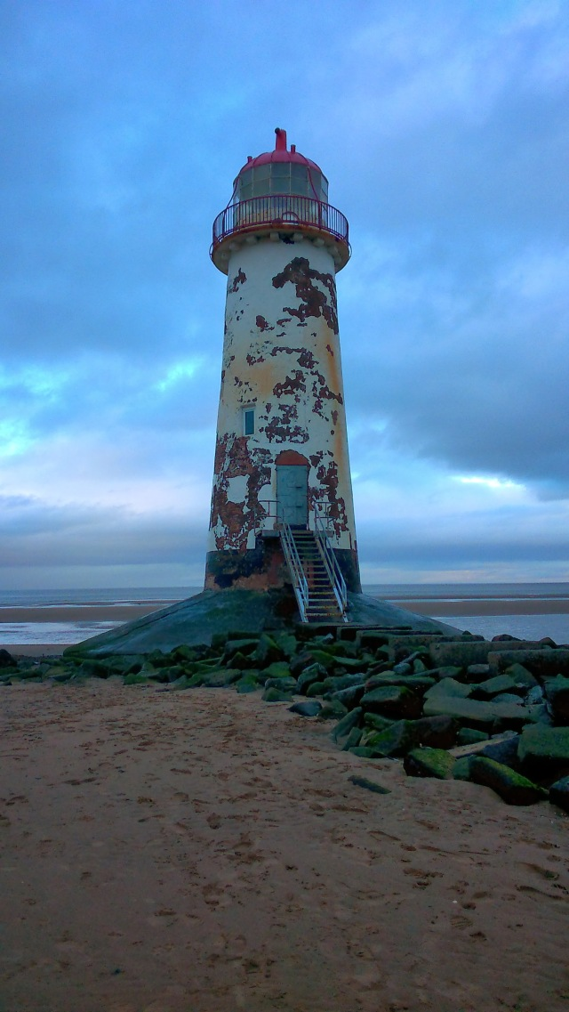 Talacre Beach Lighthouse SpookyMrsGreen