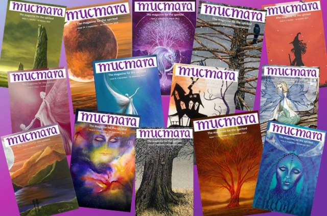 Mucmara magazine SpookyMrsGreen