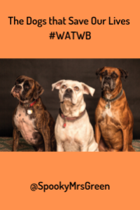 The Dogs that Save Our Lives #WATWB