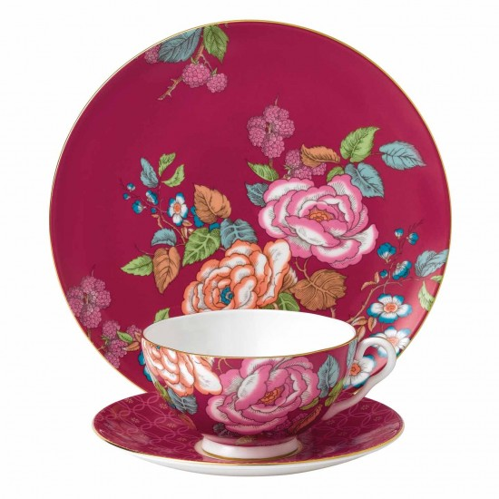 wedgwood-tea-garden-raspberry-3-piece-set-701587272339