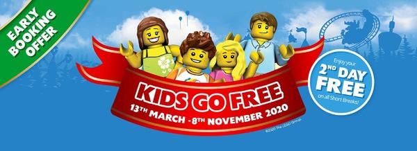 LEGOLAND Kids Go Free offer SpookyMrsGreen