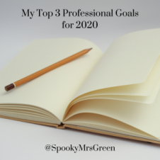 My Top 3 Professional Goals for 2020