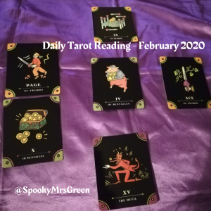Daily Tarot Reading - February 2020