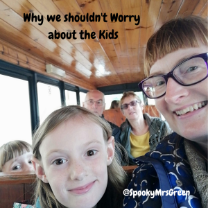 Why we shouldn't Worry about the Kids