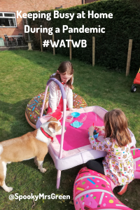 Keeping Busy at Home During a Pandemic #WATWB