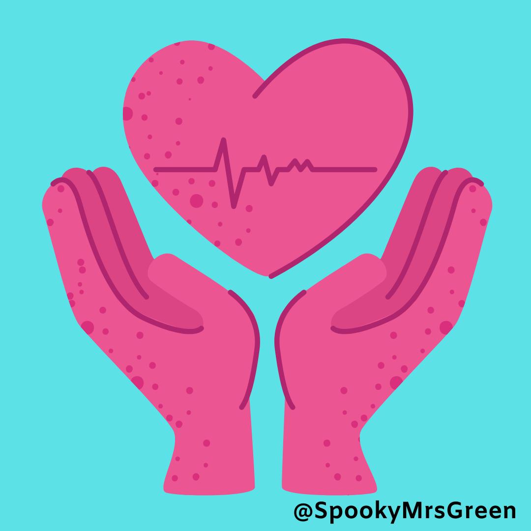 Hands and Heart @SpookyMrsGreen