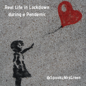 Real Life in Lockdown during a Pandemic