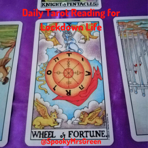 Daily Tarot Reading for Lockdown Life