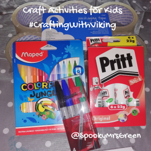 Craft Activities for Kids #CraftingWithViking