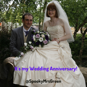 It's my Wedding Anniversary!
