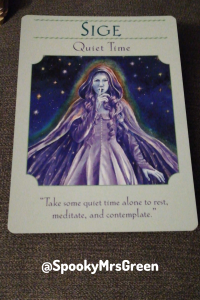 Oracle Card Guidance @SpookyMrsGreen