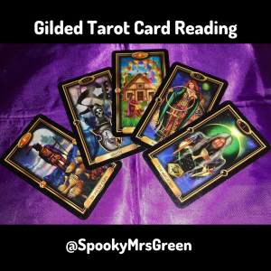 Gilded Tarot Card Reading