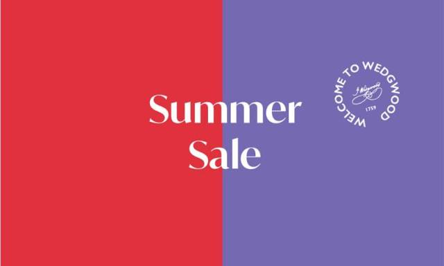 Wedgwood Summer Sale