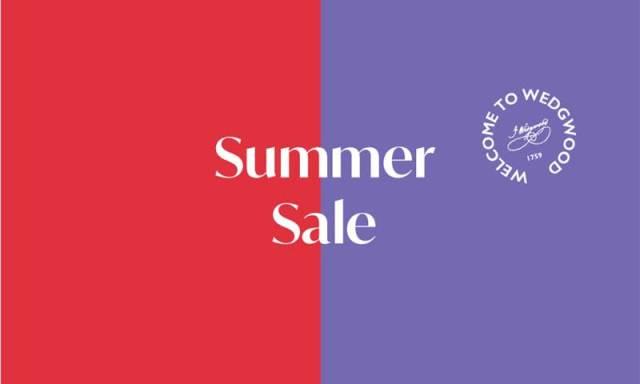 Wedgwood Summer Sale