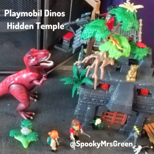 Playmobil Dinos Hidden Temple